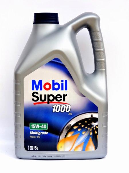 Mobil Super 1000 X1 15W40 5L